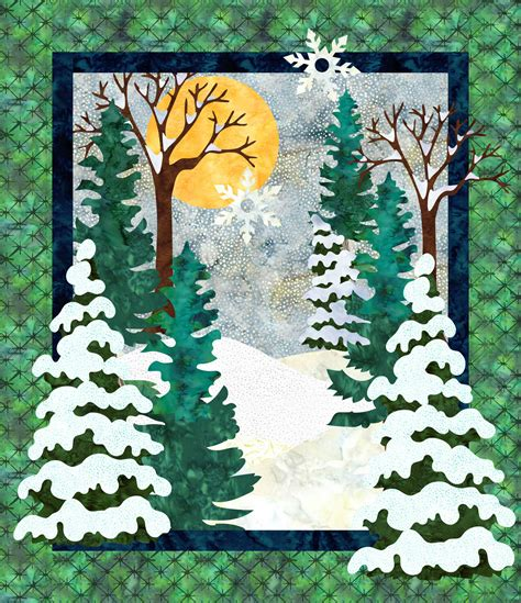 snow day downloadable quilt pattern