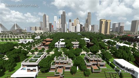 modern city high rossferry a realistic modern city minecraft project