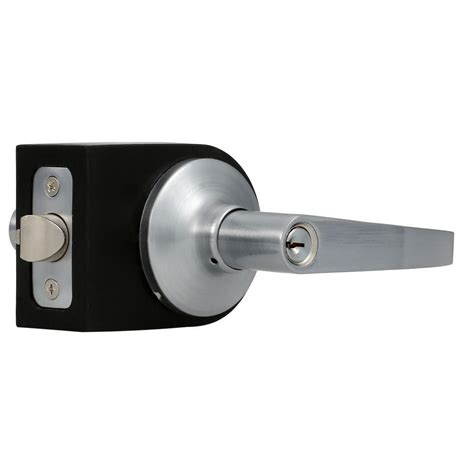 Door Controls by Global Door Controls Brushed Chrome Residential Entry