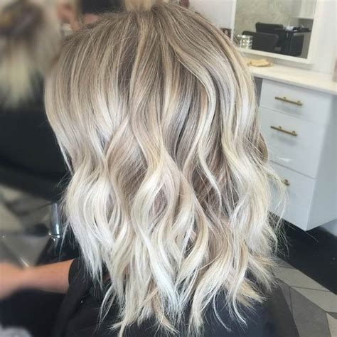 how long does it take for lowlights to fade in blonde hair 47 hot long bob haircuts and hair color ideas curly lob