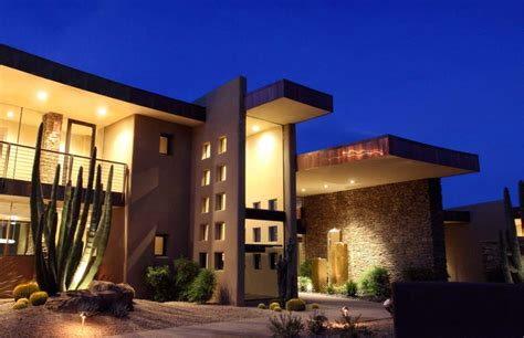 sefcovic residence is a luxurious desert style house award winning modern luxury home in arizona the sefcovic