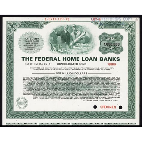 federal bank housing loan federal home loan banks consolidated bond
