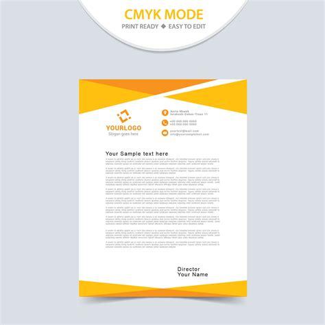 eps format letterhead designs eps letterhead design free download vector template