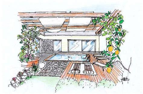 pergola terrazzo terrazza con pergola e piscina un progetto green