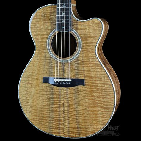 Gitar Prs 9 prs paul reed smith angelus cutaway stock 5802 koa west guitars