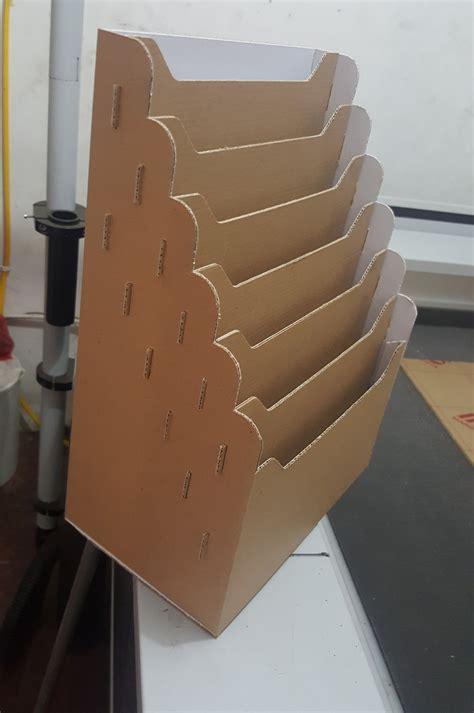 membuat rak sepatu anak dari kardus cara membuat rak obat dari kardus rak kardus tukangprint com