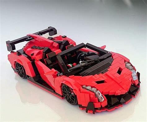 lamborghini veneno lego lego lambo veneno roadster concept car interior design