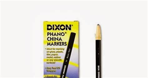 Sale Dixon Phano Pensil Kaca artgraphicstore dixon phano china marker