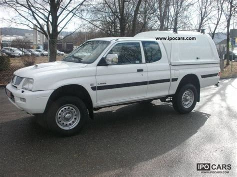 2005 Mitsubishi L200 Pick Up 4x4 Glx Cab Club Climate