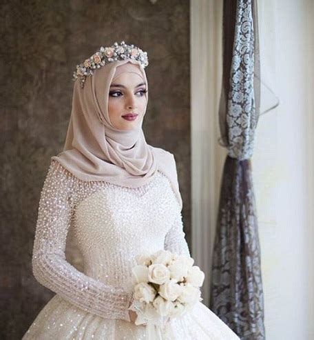 Abaya Wedding 02 15 modern muslim wedding hijabs for brides in different styles styles at