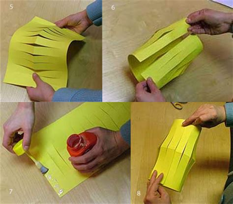 How Do You Make A Paper Lantern - how to make a paper lantern show me