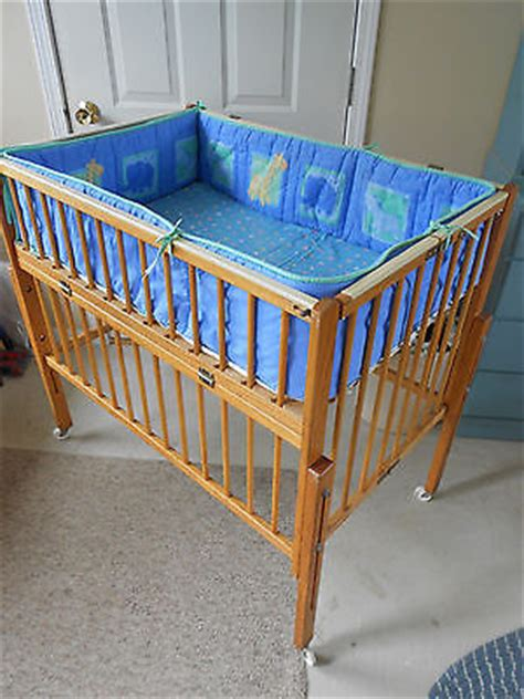 Port A Crib by Vintage Baby Portable Crib Playpen By Port A Crib For Doll