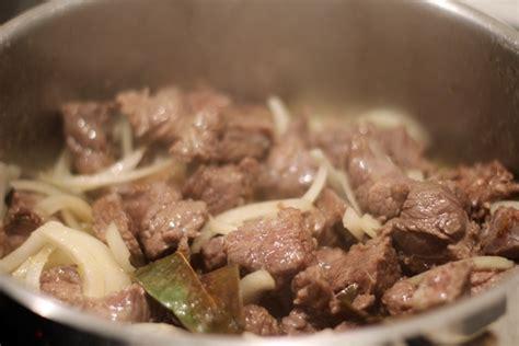 cocinar carne receta de carne guisada tradicional receta de sergio