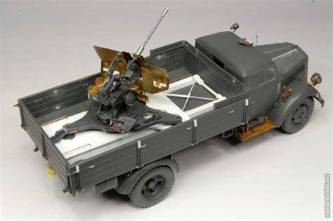 opel blitz with flak 38 opel blitz with flak38 master miniatures gallery