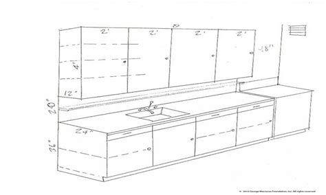 Kitchen Cabinets Measurements Standard Standard Kitchen Cabinets