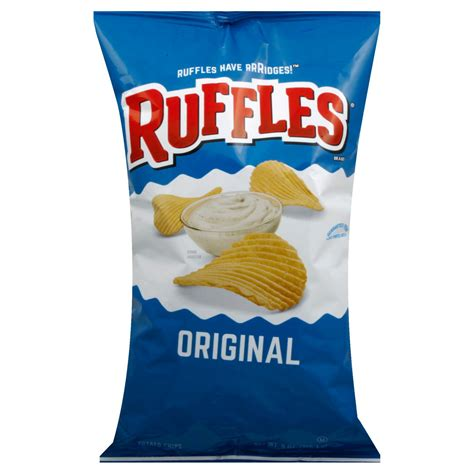 Ruffles Potato Chips 184g ruffles light potato chips decoratingspecial