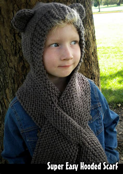 hooded scarf knitting pattern easy hooded scarf knitting pattern on luulla