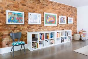 Livingroom Interior Design 100 brick wall living rooms that inspire your design