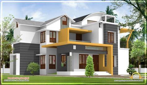Contemporary house plans photos kerala