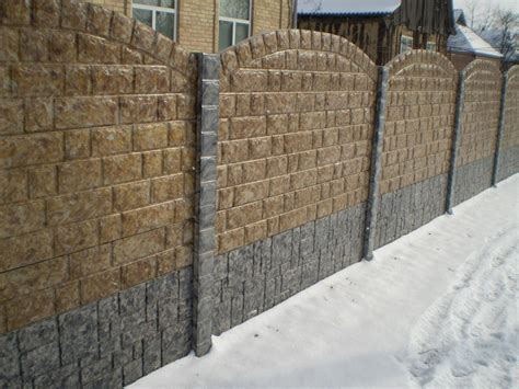 outside brick wall designs 20 concrete fence design ideas gosiadesign com