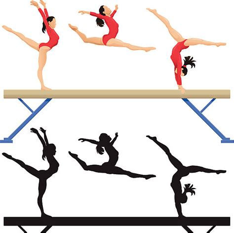clipart ginnastica gymnastics clipart artistic gymnastics pencil and in