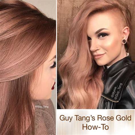 Tang Mydentity Permanent Ash Ash 5aa Hair Color Brown Grey rich gold haircolor by tang hair color