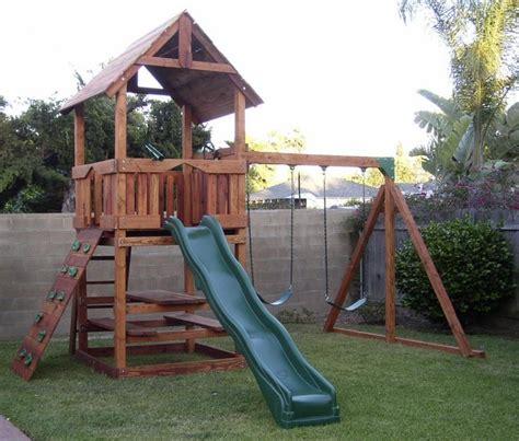 backyard playset backyard
