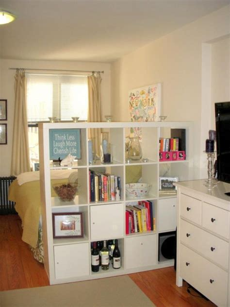 25 Creative Ideas For Using Bookshelves As Room Dividers Using Bookshelves As Room Dividers