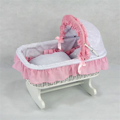 rocking bed doll accessories doll carriages strollers carriers