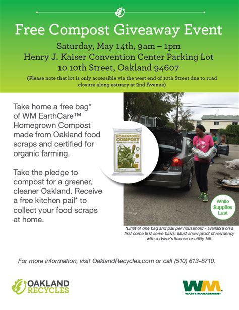 Giveaway Events - events oaklandrecycles