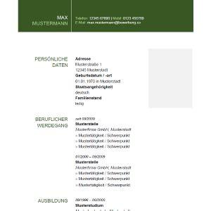 Lebenslauf Unterschrift Staufenbiel Wie Sieht Ein Richtiger Lebenslauf Aus Lebenslauf Beispiel