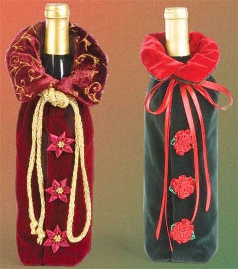 velvet wine bottle jacket repurpose and upcycle
