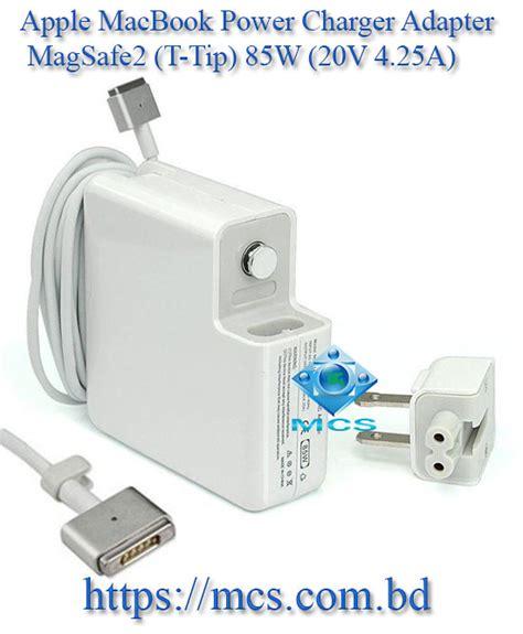 Adaptor Charger Macbook Apple Magsafe 20 85watt 20v 425a apple macbook power charger adapter magsafe2 t tip 85w