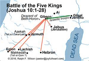 joshua map maps for the book of joshua jesuswalk bible study series