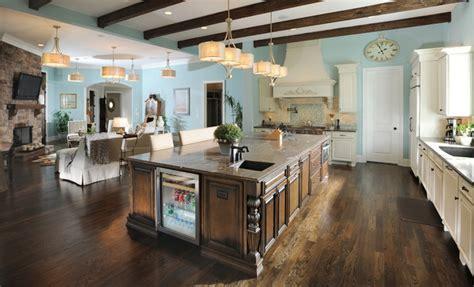 great room traditional kitchen nashville