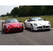 Cars Italian Alfa Romeo Supercars Spiders 8c