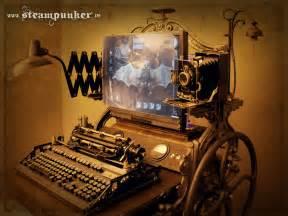 Glass Computer Desk Steampunk Computer The Steampunk Empire