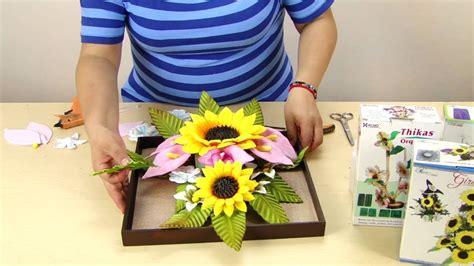 girasoles moldes de flores para hacer arreglos florales en tuto cuadro de flores girasoles alcatraces decoraci 243 n