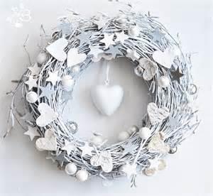 white christmas wreath winter decor by botanikastudio on etsy