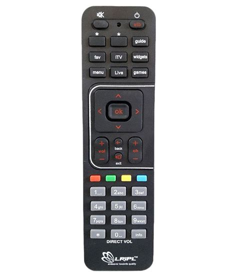 Buy 5 Gratis 5 Remote buy lripl dish remote quot compatible with quot airtel dish at best price in india snapdeal