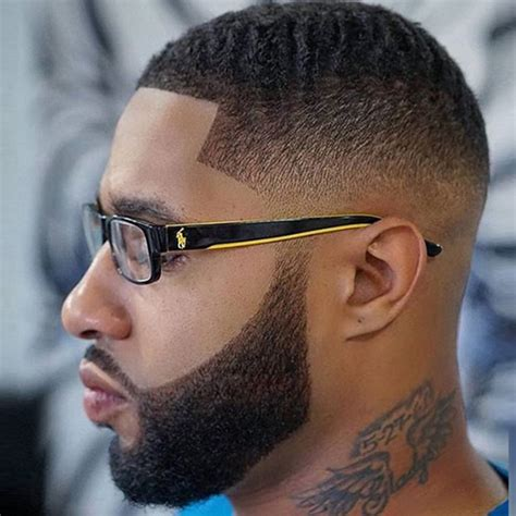 taper fade with beard taper fade haircut with beard 1 taper fade with beard