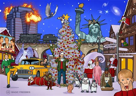 christmas movies can you spot the 25 christmas movies hidden in this