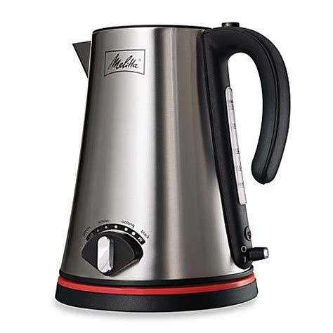 bed bath and beyond kettle melitta 174 1 7 liter cordless electric kettle bed bath
