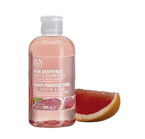 Shower Gel 60ml The Shop 1 the shop pink grapefruit bath and shower gel review