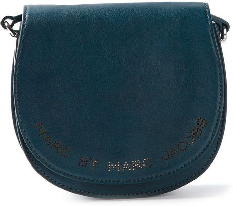 Marc By Marc Softy Messenger by Marc By Marc Softy Saddle Bag In Blue Lyst
