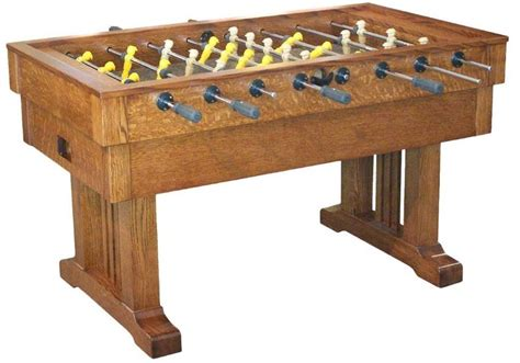 Amish Handcrafted - amish handcrafted signature mission foosball table