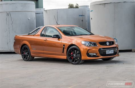 2017 Holden Commodore Ss V Redline Ute Review