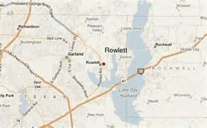 map of rowlett rowlett location guide