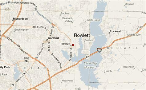 rowlett texas map rowlett location guide