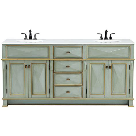green bathroom vanity cabinet home decorators collection dinsmore 72 in w x 22 in d